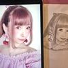 鉛筆で自画像とお目目を描いてみまし太朗〜!
