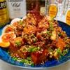 【レシピ】焼肉のタレで簡単♬やみつきピリ辛肉豆腐♬