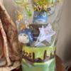 【ベビーグッズ】出産祝いのおむつケーキ『となりのトトロ』