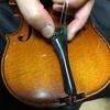 バイオリンのメンテナンス 仕上げ