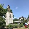 橋本左内公園と足羽山の紫陽花