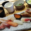 急に、お寿司が食べたくなって。