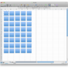 MS-Excel 2008 for mac でシート内の図形を全選択する方法