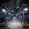 駐輪場ブルース 【夜さんぽスナップ写真】