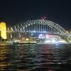 【シドニーの夜景も美しい】オペラハウス、ハーバーブリッジ、ダーリングハーバーの夜散歩してみました!!