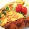 【和】フワットロッと、納豆のニラ玉オムレツ