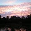 【黄昏】赤く染まるパラワン島