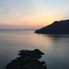 仙酔島の日の出