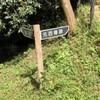 縄張図片手に廻る山中城 元西櫓