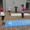 2年生(全学年):体力テスト② 立ち幅跳び