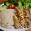 炊飯器カオマンガイは鶏ムネも鶏モモもやわらかジューシーに仕上がってとにかくうまい