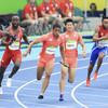 アジア新で日本決勝へ 陸上男子400リレー