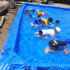 プール始まりました。 Schwimmbad