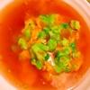 ブロッコリーと桜海老粉のあんかけ卵