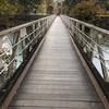 工兵橋(二葉の里、歴史の散歩道)吊り橋の人道橋です。