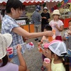 例大祭の当日 現代っ子の興味 on the day of the festival interests of modern-day children