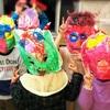 豊明市近辺の方々にお試し教室で絵画造形体験