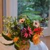 嵐の前の静けさの花飾り