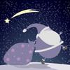 【無料/フリーBGM素材】ゆったり、忍び足、子守唄『Stealthily』クリスマス音楽