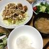 お惣菜のコロッケ・鶏ムネ肉の甘酢煮