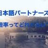日本語パートナーズ1次、2次の倍率は?