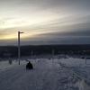 サーリセルカ観光におすすめ!スキー場にある全長2キロのソリ滑りが最高だった!