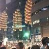 【上野】『第35回・うえの夏まつりパレード』で秋田の「竿燈」を初めて見ました!