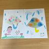 STELLA KID(ステラキッド)【六月の製作】~傘の滲み絵~