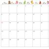 2020年uwabamiオリジナルカレンダーだよ!
