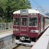 鉄道の日常風景123…20190818真夏の阪急嵐山駅。