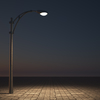 Hump Backと街灯の光