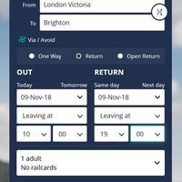 ロンドンからブライトンまで電車のチケット予約方法