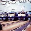 この1枚から 壮観!民営化直前1986年の新鶴見機関区公開で並んだ国鉄電機たち【1】