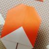 『猿の木登り』という動かす折り紙作品
