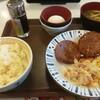 すき屋の粗挽きソーセージ朝食