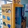 ブラジルにある...「マスク😷」...の自動販売機❗️