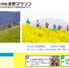 長野マラソン直前の心境・練習の記録
