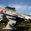 航空自衛隊 F-104Jの自衛隊基地内展示機