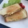 ホットサンドメーカー(ニトリ)で作るハムエッグサンドの作り方