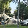 不便ではない、現代的なキャンプを楽しんでいます!