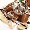 チョコバナナワッフルとイチゴのなんたらワッフルを食べた!!(新大阪駅・喫茶店エスタシオン)