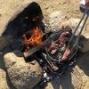 笠置で肉を焼いてきた