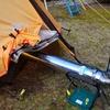 【簡単】100均道具と耐熱シートで薪ストーブをテント内で使ってみた!