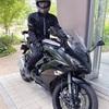 初めてのリッターバイクで公道&高速デビュー