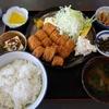 壁掛けの定食メニューを制覇する その8 @大網白里 まつや食堂 肉野菜・イカフライ