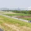 緊急事態宣言後の荒川サイクリングロード下流 人出はどのくらい?