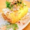 桜海老粉の卵焼き