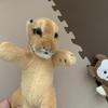 「もずく」のお友達紹介。ライオンちゃんは「小粒」からのお下がりです