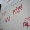 新築戸建て注文住宅の施工(ハウスラッピング・断熱材設置準備)