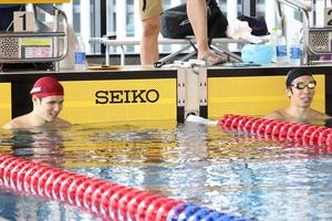 【パラスポーツ】パラ水泳=東京パラ金メダル候補がタッグ 木村敬一、富田宇宙が合同合宿公開